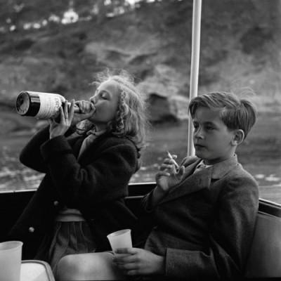 kids drinking