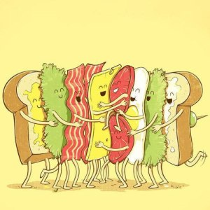 sandwich nhug