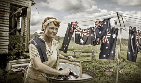 PH scrubbing flags