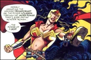 Wonder Woman Hammer